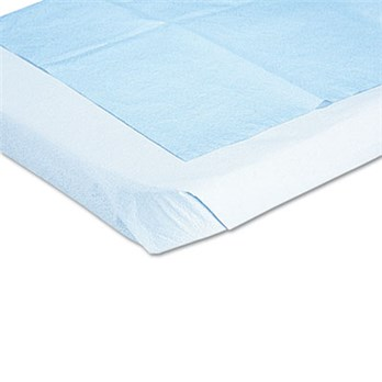 DISPOSABLE DRAPE SHEETS, 40 X 60, WHITE, 100/CARTON