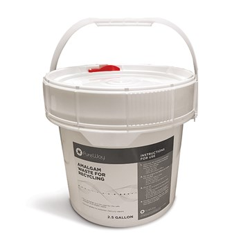 2.5 Gallon Stericycle Amalgam Disposal System