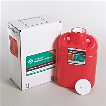 2 Gallon Sharps Disposal Mailback System