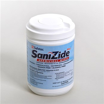 Sanizide Plus Surface Wipes