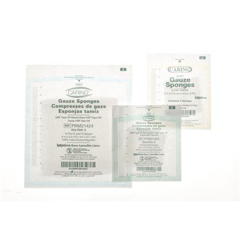 2x2 sterile gauze pads stericycle