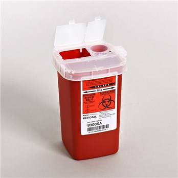 97e63ddeecb9 1 Quart Covidien Sharps Container | Stericycle