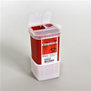 Adhesive Holder For 1 Quart Sharps Container Stericycle