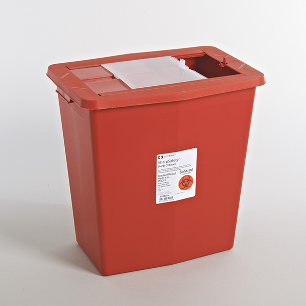 Sharps and Biohazard Waste Containers