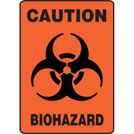 Safety Sign Caution Biohazard Symbol Stericycle