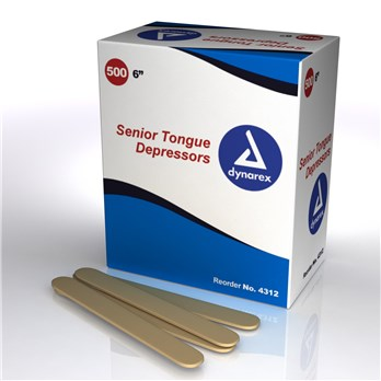 Tongue Depressors Wood