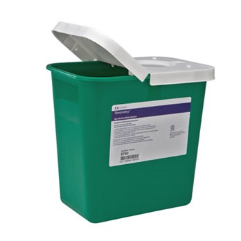 8 gallon covidien noninfectious waste container stericycle - Garden waste containers ...