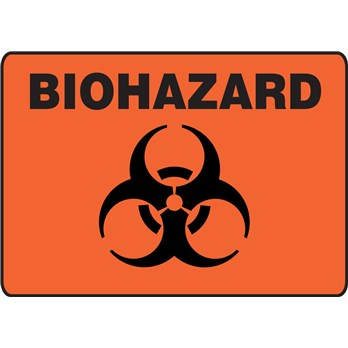 Safety Sign Biohazard Symbol Stericycle