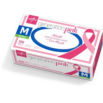 Pink Nitrile Exam Gloves