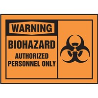 LBHZ302_WarningBioHaz_Authorized_Horizontal